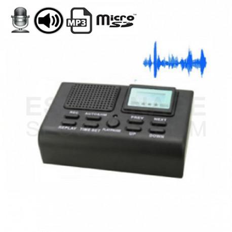 fr micro espion  enregistrement de conversation pour telephone fixe