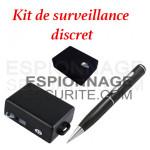 Kit de surveillance discret