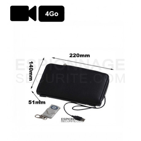 SAC CAMERA CACHEE ESPION 4GB