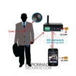 Caméra bouton Sans fil 3G