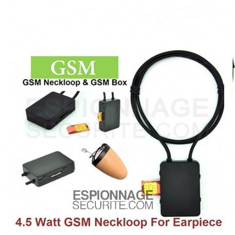 Caractéristiques de GSM boucle magnétique