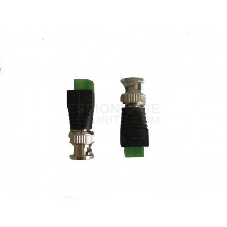 Connecteur Alimentation PRISE 2.1mm x 5.5mm DC JACK Femelle sans soudure embout Adaptateur
