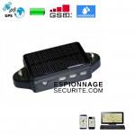 Traceur GPS C2 avec panneau solaire