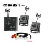 Mini Enregistreur DVR 2 caméras+1 MINI CAMÉRA ÉTANCHE STÉNOPÉ