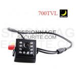 Mini caméra carrée DVR 700TVL avec infrarouge