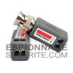 Transmetteur Récepteur Vidéo Passif UTP CAT5 BNC