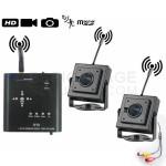 Mini Enregistreur DVR 2 caméras avec Détection de mouvement