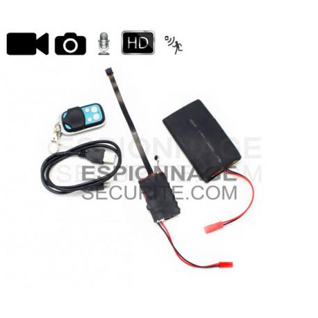 Camera espion miniature HD avec télécommande