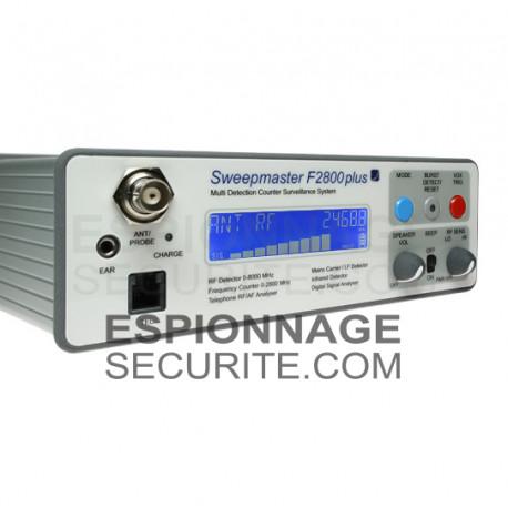 SWEEPMASTER F2800 Plus - Système de surveillance contre Professional.