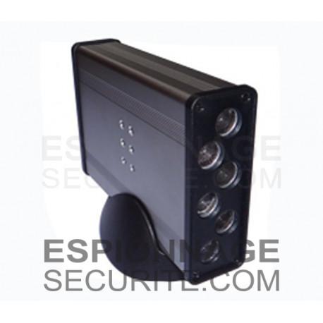 Brouilleur d'enregistreur audio silencieux avec ultrasons