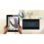 Horloge de table Caméra espion Wi-Fi