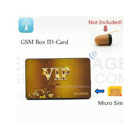 kit mini oreillette espion carte crédit GSM