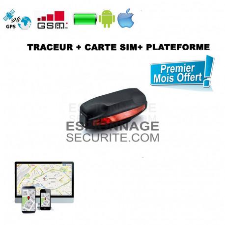 TRACEUR GPS lumière arrière