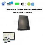 LOCATION DE TRACEUR GPS 7 JOURS