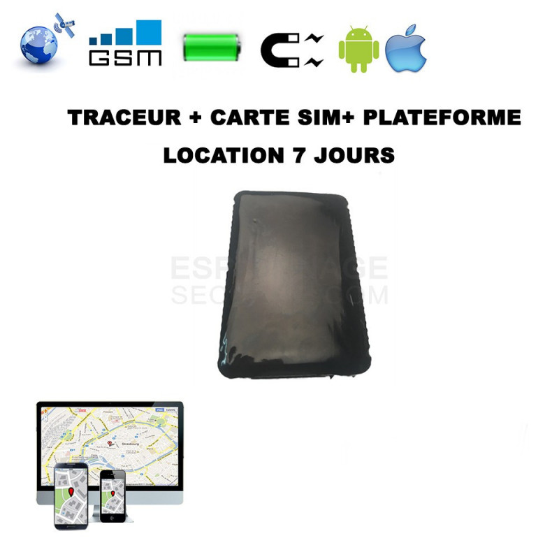 location de traceur gps 7 jours espionnage securite. Black Bedroom Furniture Sets. Home Design Ideas