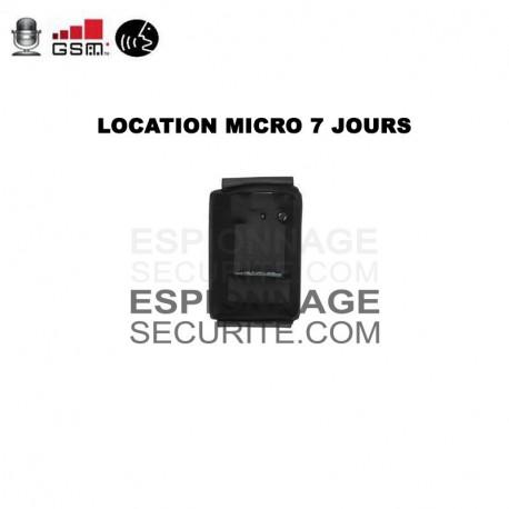 LOCATION micro espion gsm 7 JOURS