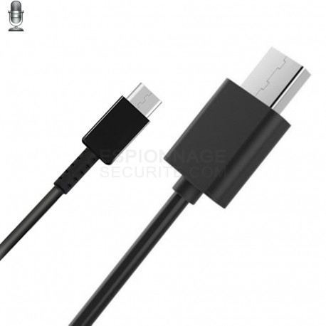 Cable usb enregistreur vocal android